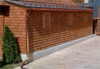 Gutters and Snowfence